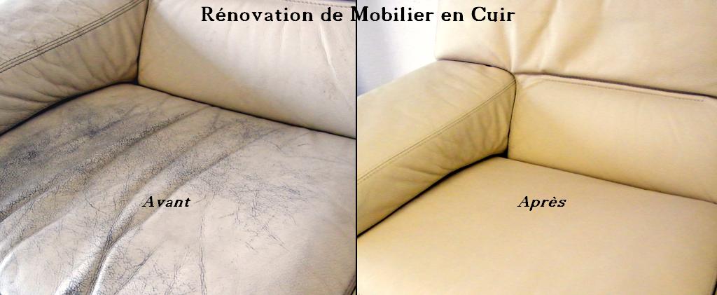 rénovation canapé cuir - intérieur déco